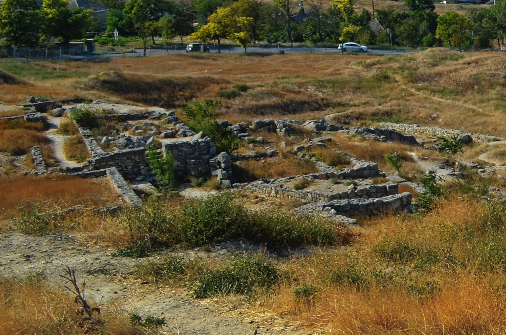 excavations of panticapaeum old 1